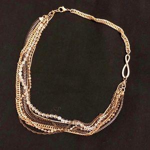 Banana Republic Multi Chain Necklace